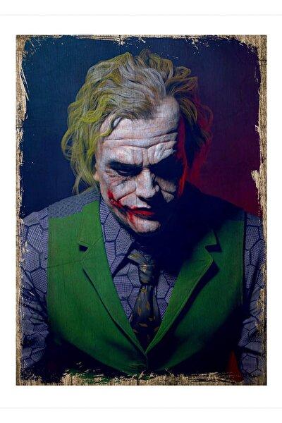 25cmX35cm Ahşap Tablo Joker
