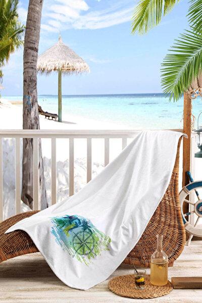 Baskılı Plaj Havlusu (70X150)