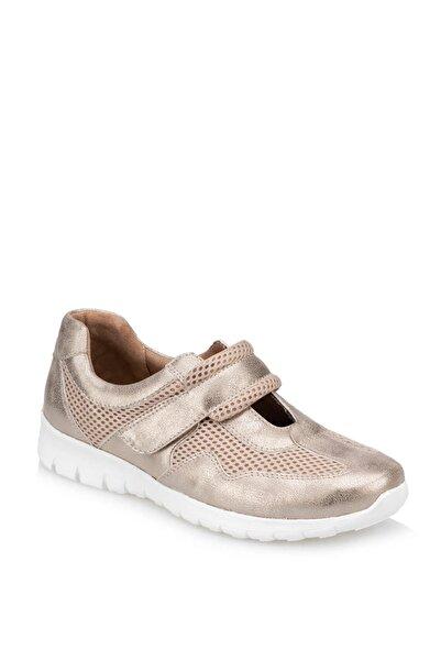 TRV910006 Altın Kadın Ayakkabı 100373588