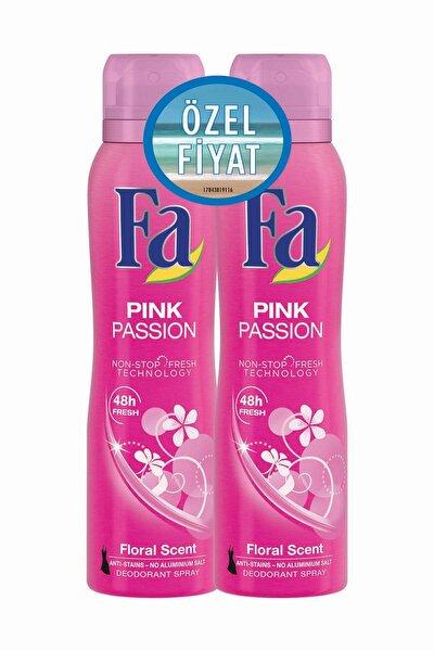 Deodorant Sprey 2'Li Pink Passion 150 ml   + 150 ml