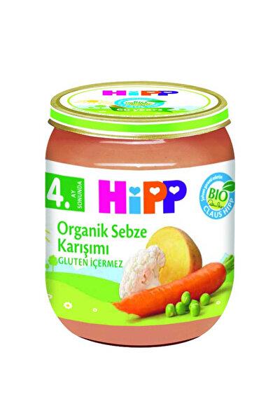 Organik Sebze Karışımı Kavanoz Maması 125 gr