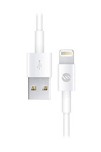 2A iPhone Lightning Usb Data Şarj Kablosu Beyaz