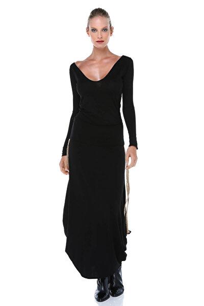 Kadın Siyah Bluz BD2399