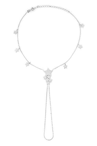 Kadın Gümüş Yıldız Halhal C430