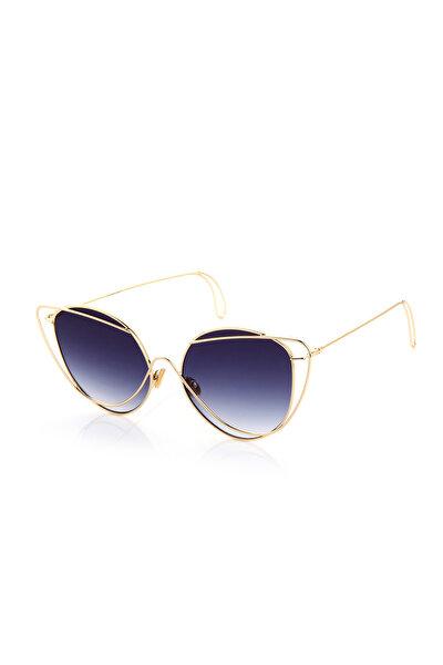 Kadın Oval Güneş Gözlüğü RXN1903SIYAH