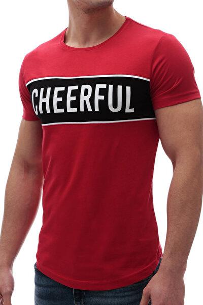 Erkek Kırmızı T-shirt - 2881