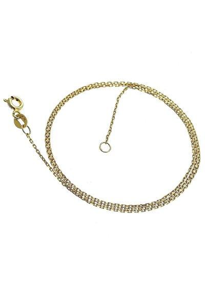 Kadın Altın Yaldızlı ;Kolye Zinciri SGTL6361
