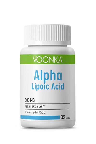 Alpha Lipoic Acid 600 Mg 32 Kapsül Skt:03/2021