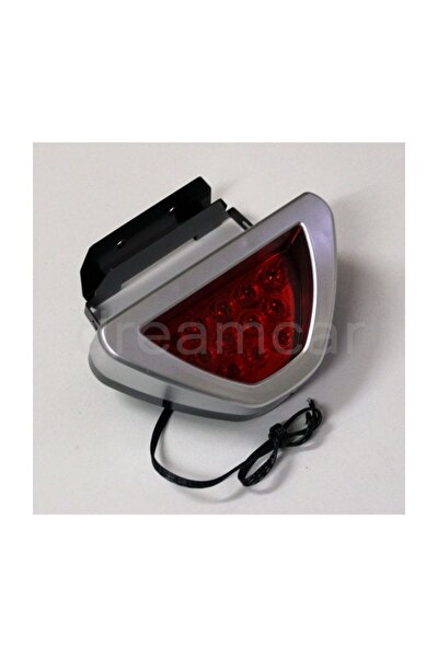 Gri F1 Style Kırmızı Flash Patlayan Stop Lamba