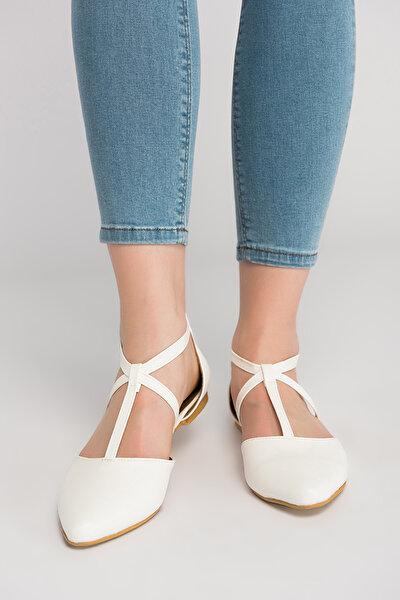 Beyaz Kadın Ayakkabı D726537309