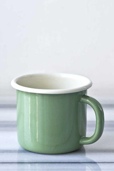 Yeşil Emaye Kupa