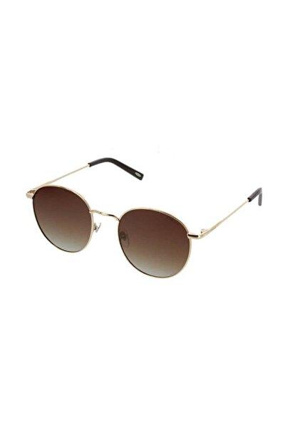 Unisex Altın Güneş Gözlüğü Os 3090 03