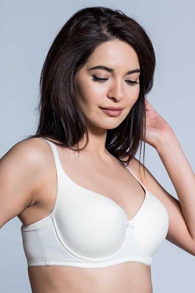 Kadın Ekru Basic Sütyen