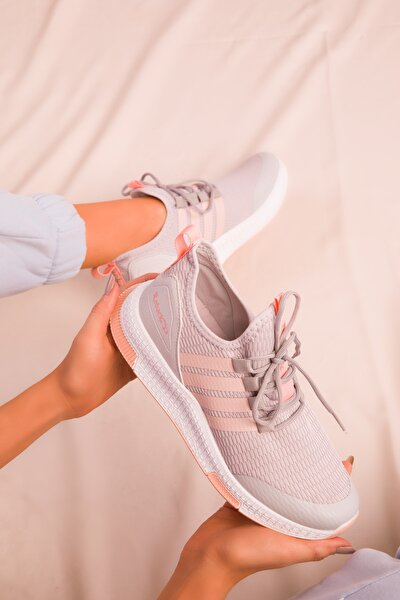 Buz-Pudra Kadın Sneaker 16199