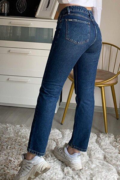 Kadın Mavi Daisy Koyu Renk Slim Jeans