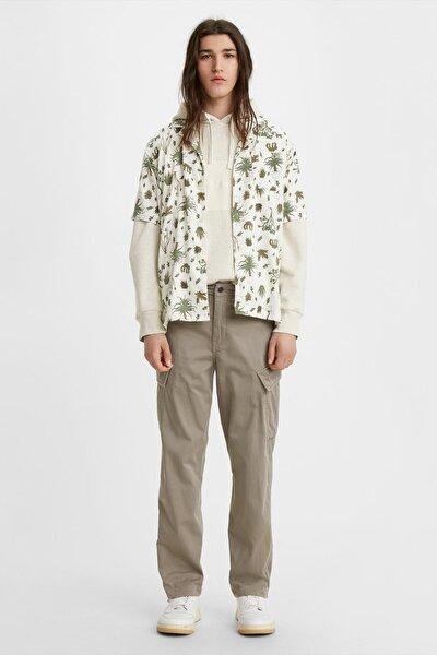 Erkek Yeşil Taper Cargo Pantolon 39440-0002