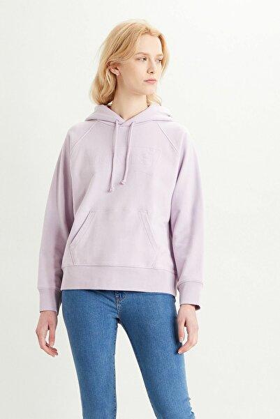 Kadın Graphic Sport Hoodie Sweatshirt 35946-0206