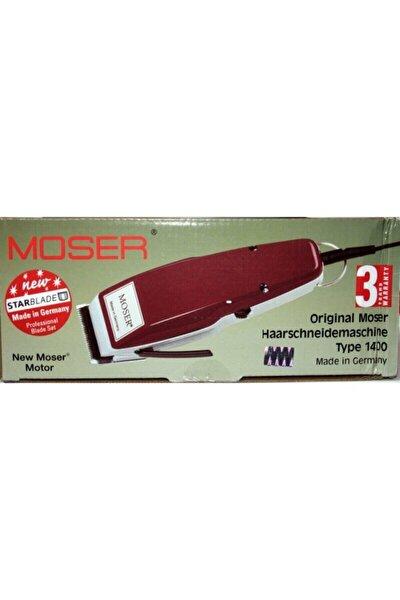 Moser 1400-0050 Saç Sakal Kesme Makine Traş Makinesi Seti