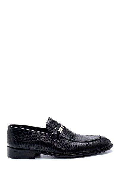 Erkek Siyah Deri Loafer Ayakkabı