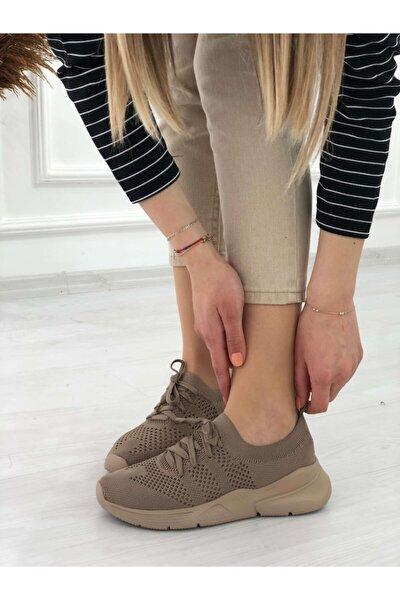 Kadın Kahverengi Spor Ayakkabı