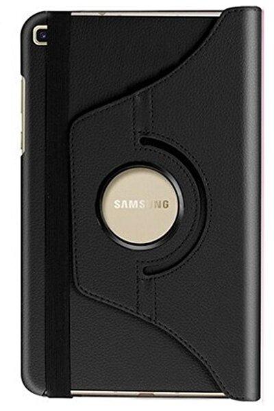 Samsung Galaxy Tab A Uyumlu  8.0 Inç ''t290-t295-t297'' 360 Derece Döner Tablet Siyah Kılıf