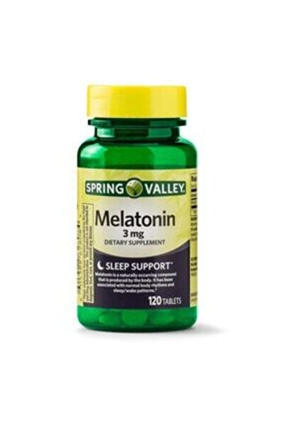 3 Mg 120 Tablet Melatonin