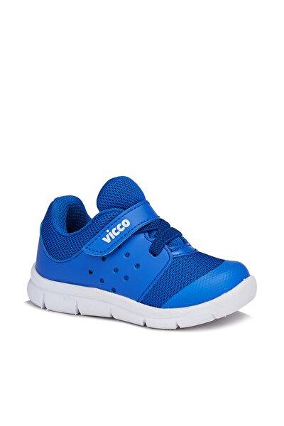 Mario Erkek Çocuk Saks Mavi Spor Ayakkabı