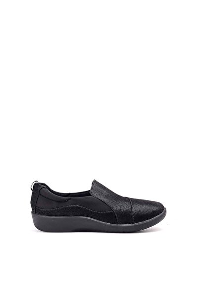 Siyah Kadın Sneaker 261209314-Nubuk-SIYAH
