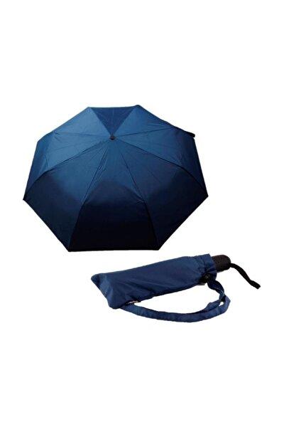 Şemsiye Lacivert Otomatik Rüzgarda Kırılmayan
