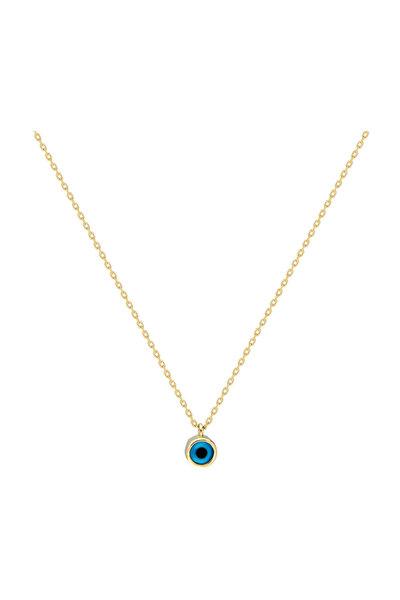 Kadın Altın Göz Kolye CM0671