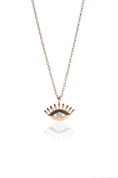 Kadın Gümüş Göz Kolye SGTL9143