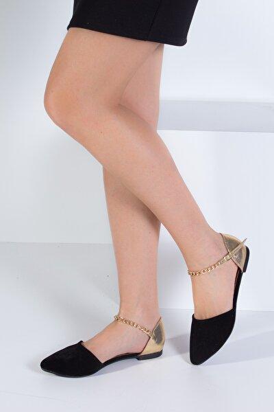 Siyah Dore Kadın Babet B726024402