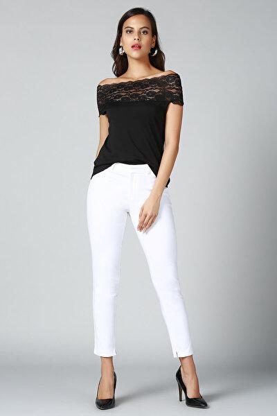 Kadın Siyah Bluz BD2234