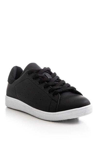 Siyah Beyaz Unisex Sneaker TBSTN-0