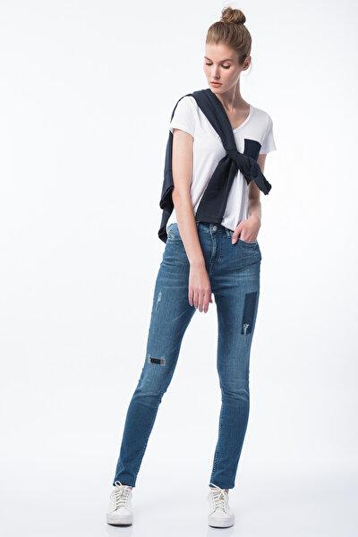 Kadın High Waist Skinny Jean 3579-5654-536