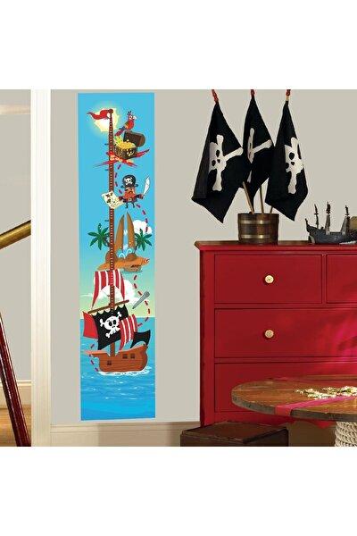 Korsanlar Boy Ölçer Sticker