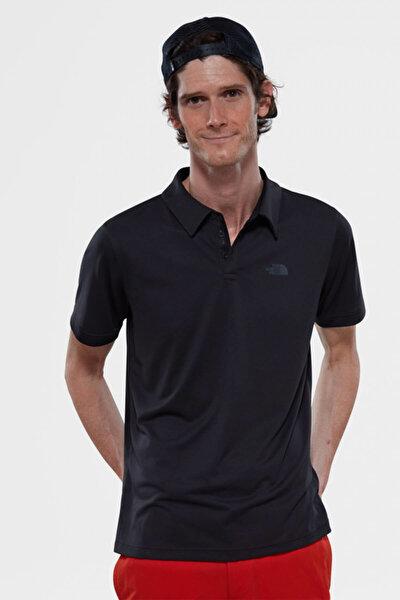 Erkek T-Shirt - Tanken Erkek Lacivert Polo Yaka Tişört - THET92WAZE50JK3