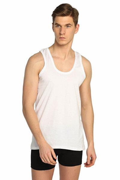Erkek Beyaz  Klasik Atlet ELF568T0101CCM