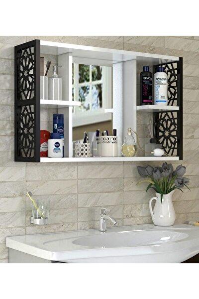 Aynalı Banyo Dolabı siyah
