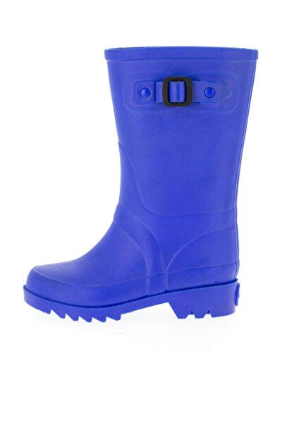 W10115-14 Mavi Unisex Çocuk Yağmur Çizmesi 100318340