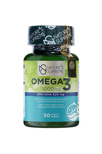 Omega 3 1000 Mg 30 Kapsül