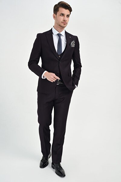 Siyah Mono Takim Elbise - 4244