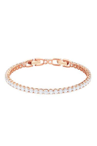 Kadın Bilezik Tennis:Bracelet Rnd Dlx Czwh/Ros M 5464948