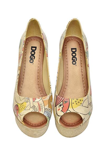 Multi Kadın Dolgu Topuklu Ayakkabı DGS017-MGD002