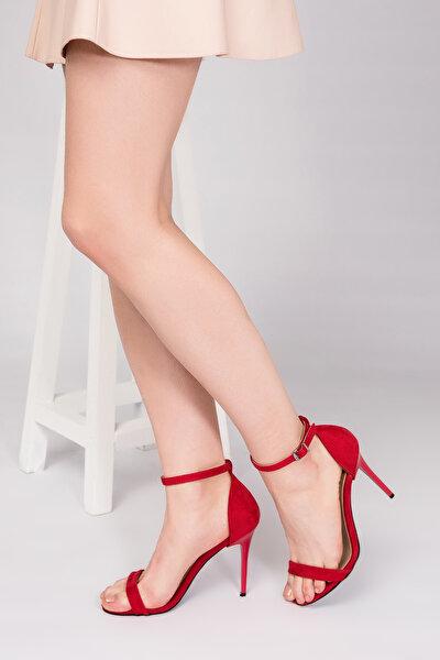 Kırmızı Kadın Topuklu Ayakkabı B922112602