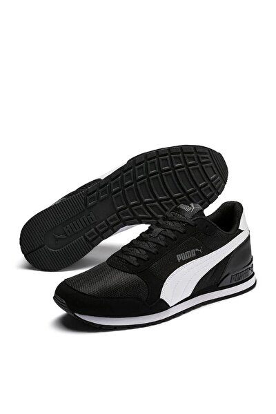 St Runner V2 Mesh Siyah Kadın Sneaker Ayakkabı 100415834