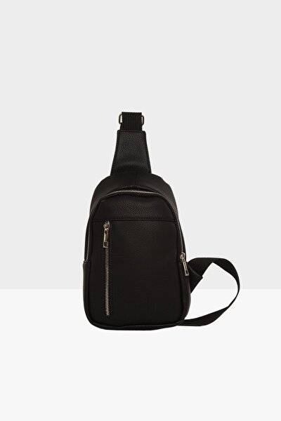 Unisex Siyah  Çapraz Mini Çanta M000002808