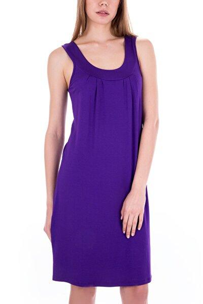 Kadın Mor Elbise 59431
