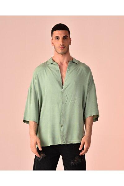 Keten Karışımlı Gömlek