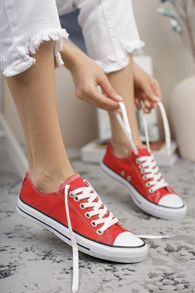 Unisex Kırmızı Sneaker 0012101